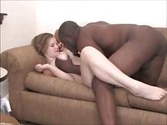 Young White Wifey Bangs Negro Pal & Hubby Tapes