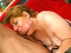 Chubby Granny Likes them Younger