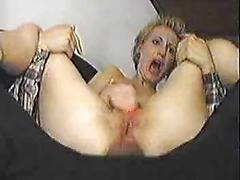 Painful blonde anal