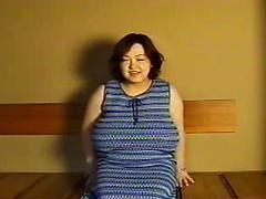 Japanese  pregnant with monster tits