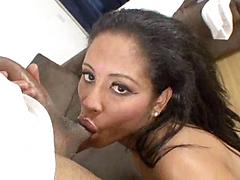 Beautiful Horny Girl Giving Blowjob And Gets Hard Drill In He