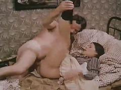 Retro Vintage Classic Porn With Woman In Pinstripe