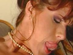She Licks Her Cunt Under The Table In Restaurant