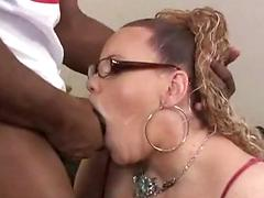 Horny Ugly Fat Slutty Skank Gets Plowed By Dude