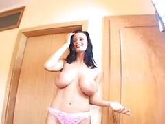 Matured Housewife Undresses And Pleases Her Hubby