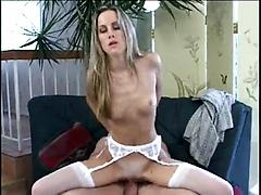 Sexy Teen Lets An Old Man Fuck Her In The Ass