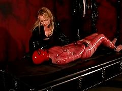 These Freaky Lesbos Have A Little Bondage Action