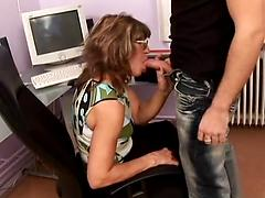 Compilation Of Scenes With Chunky Grannies Getting Banged