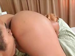Hot Ebony Slut Spreads Her Big Rear For Some Good Cock