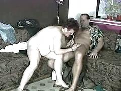 Sloppy Old Grandma Loves To Suck And Screw