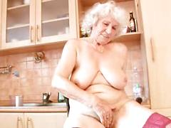 70 Year Old Lady Stripping And Smiling For Cam