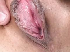 Asian Girl Swallows Cock While Letting Another Guy Use Toys