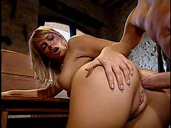 Blonde Gives Up Her Ass V In The Dungeon