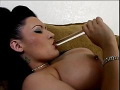 Sexy Big Titted Slut Gets Her Hot Pussy Licked And Fucked