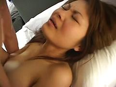 Gal Moans With Pleasure As She Is Fucked Hard