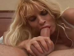 Mature Sweetheart Takes Cock Down Her Throat
