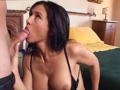 Beautiful Busty Brunette Asian Chick Gets Fucked From Behind