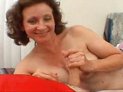 Grandma Strips Down To Show Off And Fuck