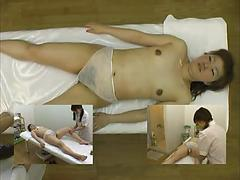 Nurse Asian Chick Gives A Hot Massage And More