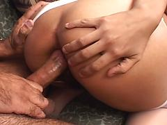 Melody Takes Will Ravage's Cock In Her Tight Hairy Pussy
