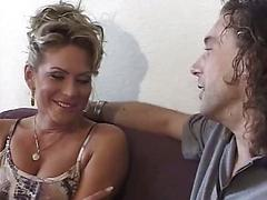 Mature German Whore Sucks His Big Dick Then Is Plundered Deep