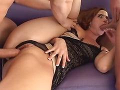 Slutty Teen Gang Bang For The First Time