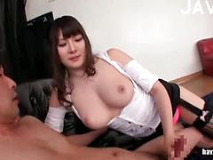 Big Assed Asian Gets Eaten Out Then Sucks A Dick