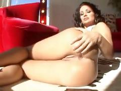 Busty milf lisa ann sucks and rides a big dick