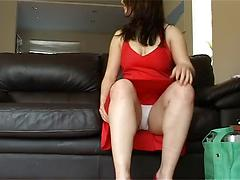 Voyeur twoe babes back from shoping