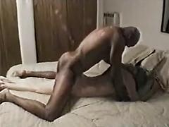 Husband lets black guy fuck his wife