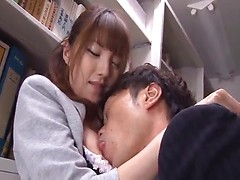 Asian chick fucks like a real slut with a group of fellows