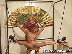 Lusty babes enjoy BDSM sex and female domination