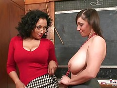 Teacher Danica Punishes Student Michelle
