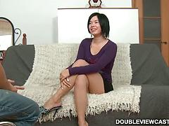Ravishing damsel in hot ass fucking action