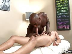 Big Black Cock Massage - Alan Kennedy, Osiris Blade